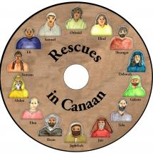 Rescues in Canaan AUDIOBOOK